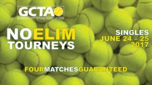 GCTA No-Elim Singles Tournament, June 24-25