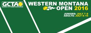 Western Montana Open logo