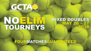 GCTA No-Elim Mixed Doubles Tourney | May 26-27